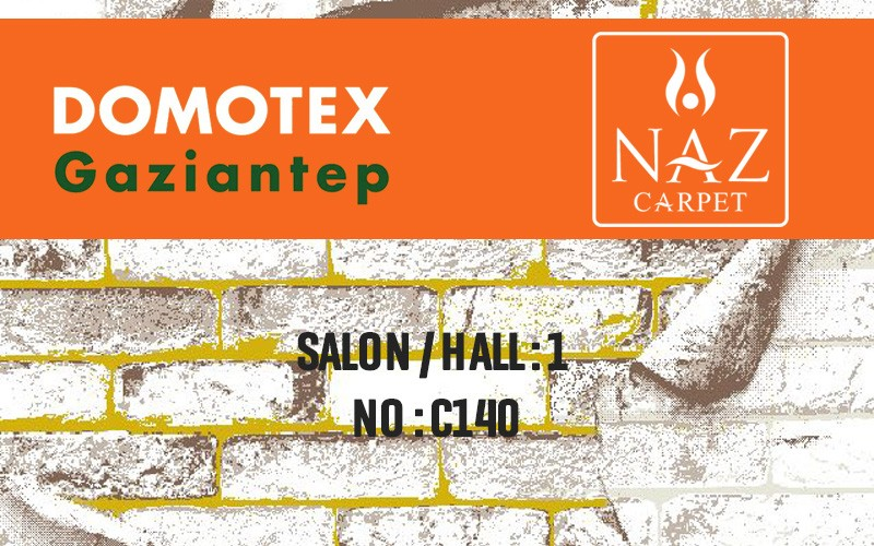 We Got Our Place at Domotex Fair.